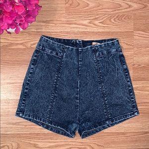 Pants - ✨🆕 BOGO Free: Acid Wash High Waist Jean Shorts